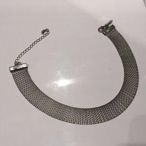 Jewelry - Silver Mesh Choker